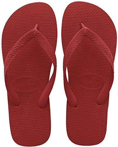 Havaianas Unisex-Erwachsene Top Zehentrenner, Rot (Ruby Red), 41/42 EU