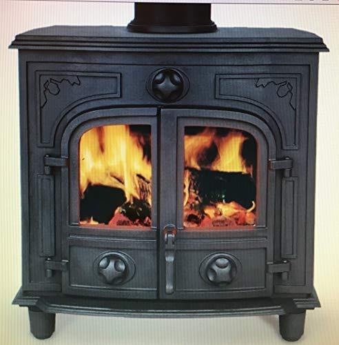 Agatar 20B Calentador de agua de 20 kW para estufa de leña, quemador de habitación, calentador de agua de hierro fundido Agatar 20B