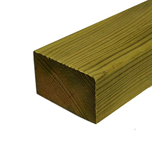 3 x 2 Timber (47 x 75mm) C16 Sawn Tanalised Treated Timber Carcassing 3m Pack of 6