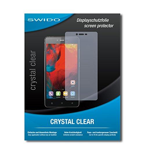 SWIDO Bildschirmschutz für Gionee F103 [4 Stück] Kristall-Klar, Hoher Festigkeitgrad, Schutz vor Öl, Staub & Kratzer/Schutzfolie, Bildschirmschutzfolie, Panzerglas Folie