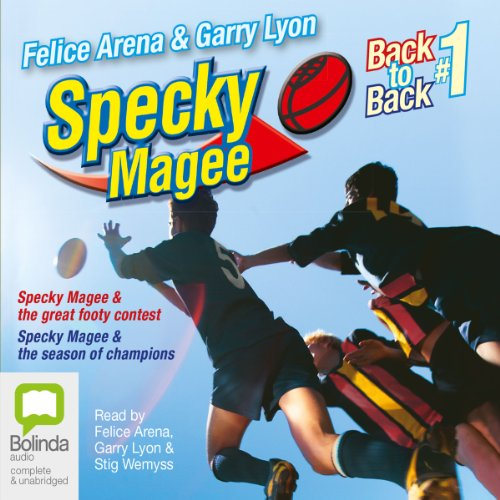 Specky Magee Back to Back cover art