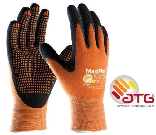 MaxiFlex Endurance 34-848 Foam Micro Dot Palm Nitril beschichtete Arbeitshandschuhe, 10/XL