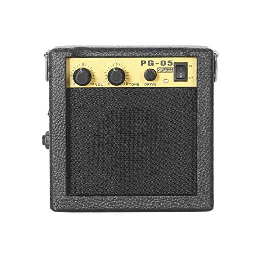 Candybarbar E-WAVE PG-05 5W ni amplificador de guitarra Amplificador de guitarra con 3 pulgadas Accesorios de guitarra de altavoz para guitarra eléctrica acústica