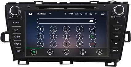 QSICISL Android 9.0 Car Radio Stereo GPS Navigation Multimedia for Toyota Prius 2009 2010 2011 2012 2013 2 DIN 2GB RAM 16GB ROM Car DVD Player Bluetooth FM/AM