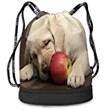 NE Mochila Deportiva con cordón Unisex Mochila Frutas Que no Son seguras para Perros Viaje Duradero Espacio Grande Gimnasio Saco Fresco Impermeable