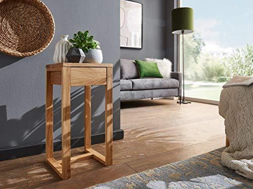 Main Möbel Blumensäule 30x60cm 'Ansbach' Wildeiche massiv