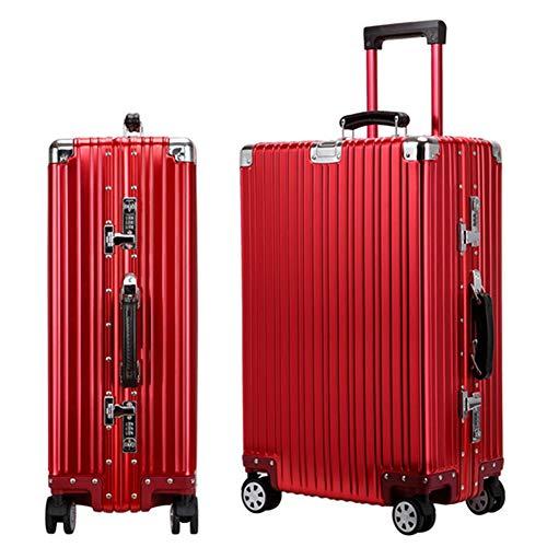 スーツケース旅行出張 アルミ スーツケース キャリーケースアルミ・マグネシウム合金 軽量 静音 TSAロック搭載 スーツケース アルミ(XXL) 108L スーツケース 大型
