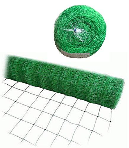 Bluefire Green Trellis Netting for Climbing Plants Commercial Grade Plastic Garden Trellis Net (6.5 ft x150 ft)