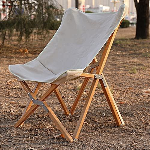Wooden butterfly chair