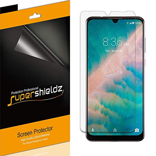 (6 Pack) Supershieldz for ZTE Blade 10 and Blade 10 Prime Screen Protector, Anti Glare and Anti Fingerprint (Matte) Shield