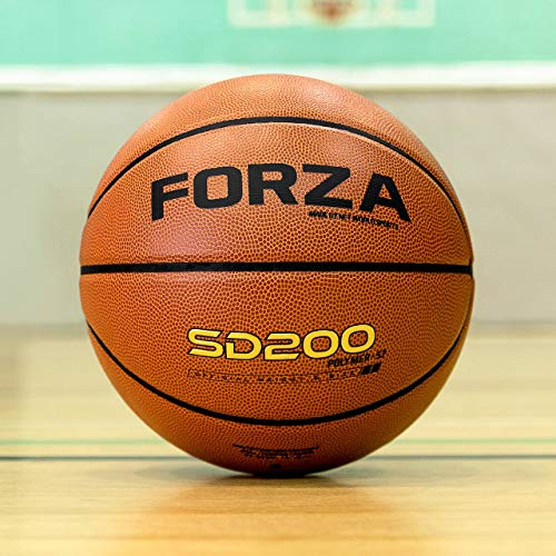 Buy Cheap FORZA SD100 Premium Game Basketball | Premium Outdoor & Indoor Basketball Ball (Pack of 30...