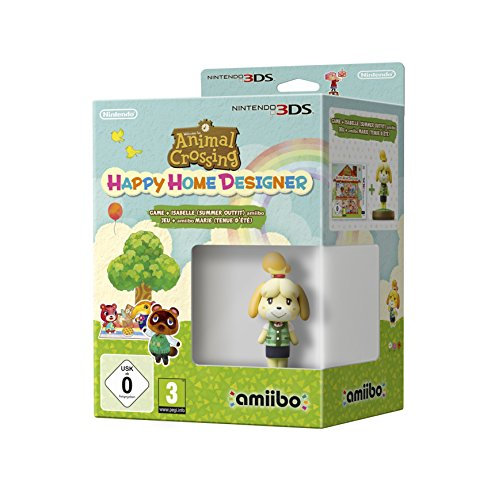 Animal Crossing: Happy Home Designer + amiibo Canela, Edición Verano