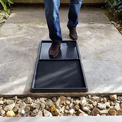 Colorplastic Shoe Sanitizer Mat, Disinfection Floor Mat, Sanitizer Mat for Shoe Soles, Carpet Disinfectant Entrance Indoor Scrape, Sanitizing Floor Mat, Door Mat