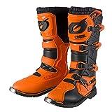 O'NEAL | Botas de Motocross | Moto Enduro | Confort gracias a la plantilla de malla de aire, cuatro hebillas, material sintético de Perdurable | Botas Rider Pro | Adultos | Naranja | Talla 40