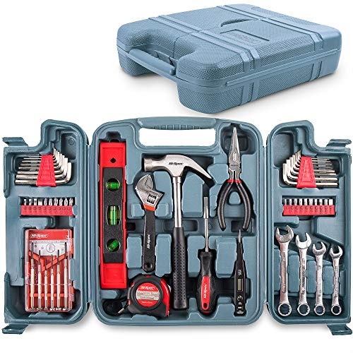 Hi-Spec 53 Piece Household Tool Set including Metric...