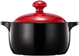 GMING - Cacerola - Cazuela - Olla De Sopa - Resistente Al Calor, Duradero, Textura Esmaltada, Fácil De Limpiar, Sartén Antiadherente, Multiusos,2.5L (Color : A, Size : Capacity2.5L)