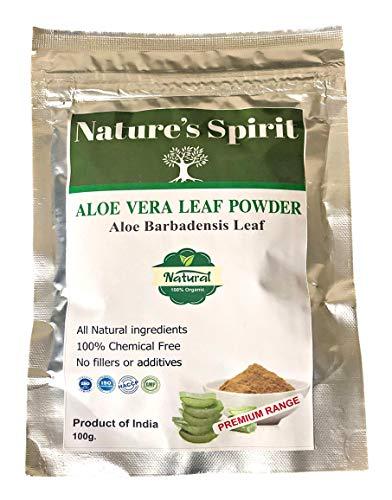 Natürliches Aloe Vera Blatt-Pulver, 100 % natürliche Aloe Barbadensis, ohne Chemikalien, ohne Zusatzstoffe