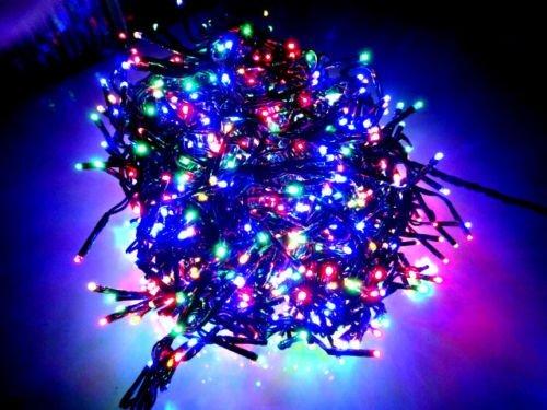 Clusterverlichting Multi Color 768 LED Lampjes met Controller (4.5M)