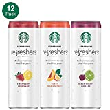 Starbucks, Refreshers with Coconut Water, 3 Flavor Variety Pack, 12 fl...