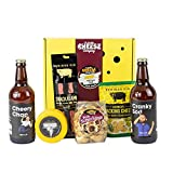 The Virtual Pub Gift Box. A Delicious Selection Box Full of Pub Inspired Foodie Gifts. Delicious Savoury Snacks, Cheese and Beer. The Ultimate Food Gifts for Men Or Women.