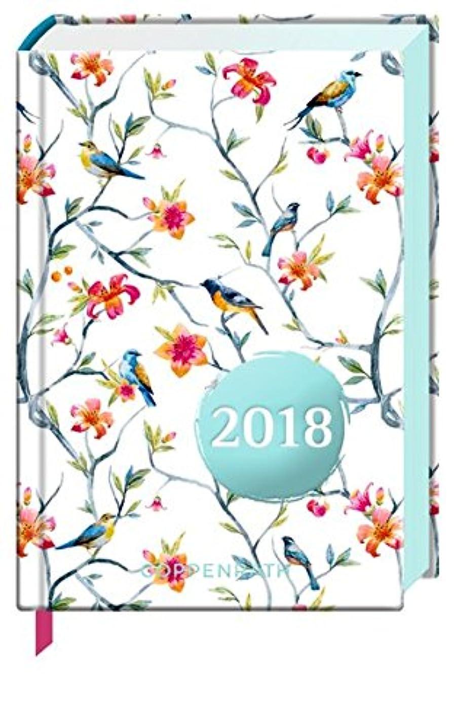 避難するピアースオーバーコートHeitere Gedanken 2018 Taschenkalender (Blaue V?gel)