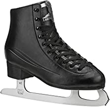 Lake Placid Cascade Men's Figure Ice Skate, Black, Size 9