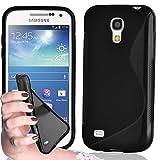 coque-personnalisable Coque Noire intégrale - pour Samsung Galaxy S4 GT-I9515 - Caoutchouc Souple...