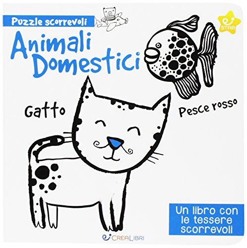 Animali domestici. Puzzle scorrevoli. Ediz. a colori