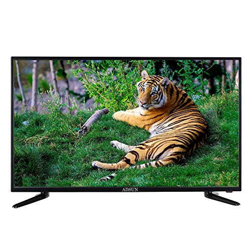 Adsun 60 cm (24 inches) HD Ready IPS LED TV A - 2400N (Black) (2019 Model)