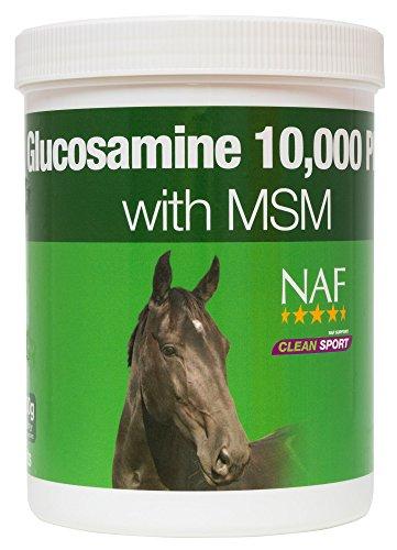 Natural Animal Feeds NAF Glucosamina 10000Plus con MSM–900G