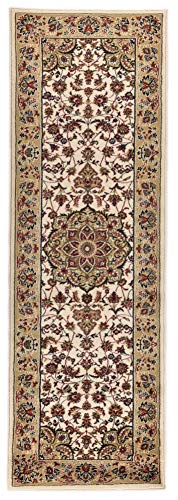 THEKO Tapis HAMADAN Coloré: camel Dimension: 80 x 250 cm