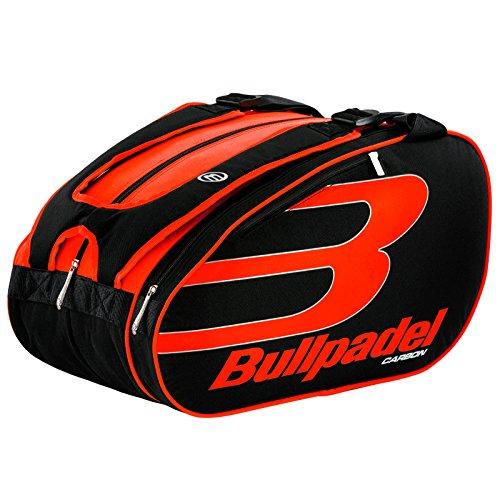 La mejor mochila de padel de hombre: Bullpadel 18004 Naranja Flúor