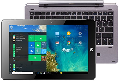 'e-tab bpl64dr2ek/S Tablet PC, Pantalla LCD/LED de 10.1 (Intel Atom z8350, RAM 4 GB, Plata