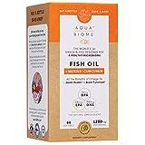 Aqua Biome by Enzymedica, Fish Oil + Meriva Curcumin, Complete Omega 3 Supplement, Non-GMO, 60 Softgels (30 Servings)