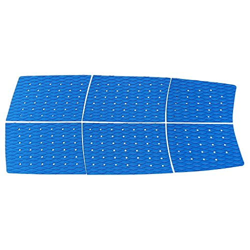 Homyl 6 almohadillas antideslizantes para tabla de surf de traza, color azul