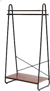 アンセム ハンガーラック ANH-3293 BR ウォールナット ブラックスチール