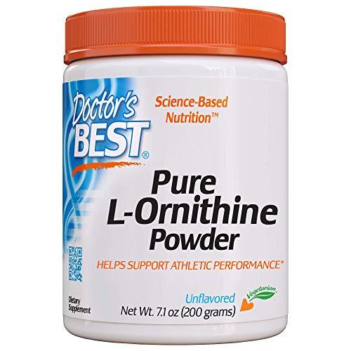 Doctor's Best Pure L-Ornithine Powder, 200 Gram