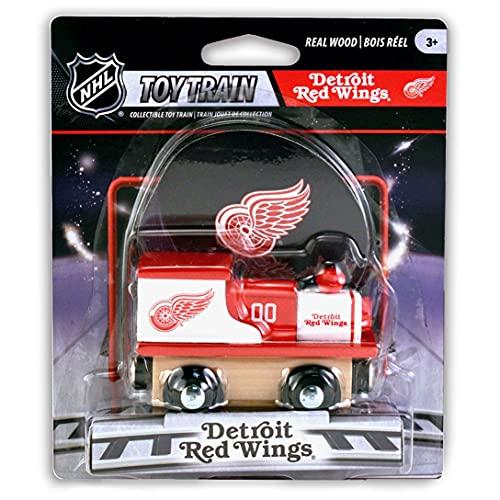 걸작 NHL 디트로이트 레드 윙스 장난감 기차