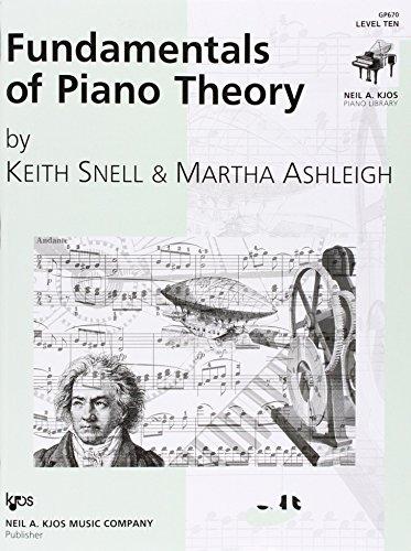 GP670 - Fundamentals of Piano Theory - Level 10