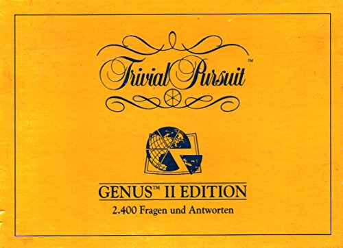 Trivial Pursuit Genus 2 Edition