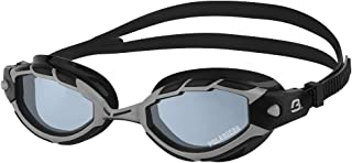 Barracuda Swim Goggle TRITON POLARIZED - Wire Frame Technology, Anti-glare Curved Lenses Anti-fog UV Protection No Leaking Triathlon for Adults Men Women #33975