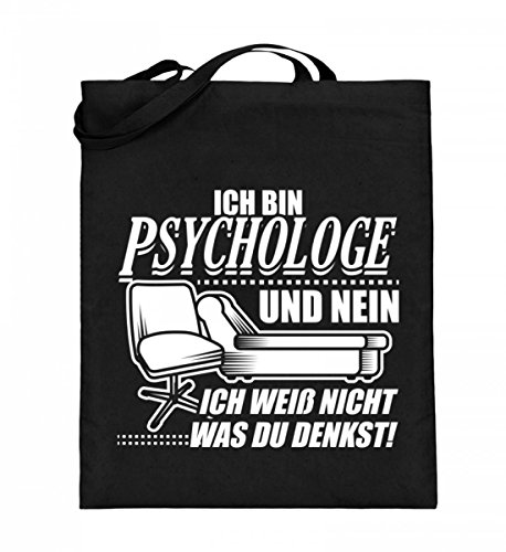 Chorchester Hochwertiger Jutebeutel (mit langen Henkeln) - Perfekt für alle Psychologen