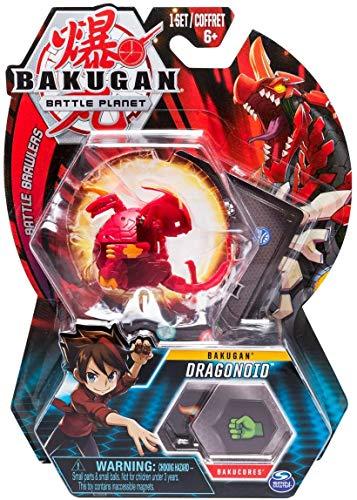 BAKUGAN - 5cm Tall Action Figure e Trading Card - Dragonoid