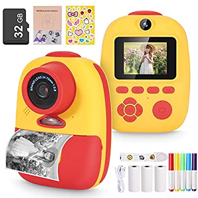 Instant Print Camera and Print Paper from