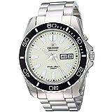 Orient Herren Analog Automatik Uhr mit Edelstahl Armband FEM75005R9