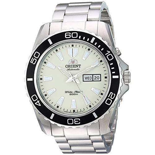 Orient Reloj Analógico para Hombre de Automático con Correa en Acero Inoxidable FEM75005R9