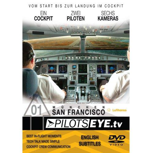 PilotsEYE.tv | SAN FRANCISCO | Cockpitmitflug LUFTHANSA | A340 |