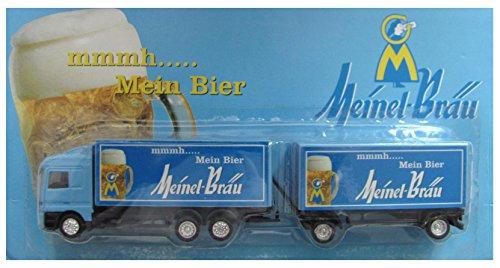 Meinel Bräu Nr.01 - mmmh...... Mein Bier - MB Actros - Hängerzug