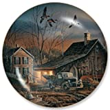 Prepared For The Season by Terry Redlin 8.25 inch Decorative Collector Plate by Wild Wings