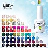 [298 couleurs] Choisir Lot de 8 Verni à ongle Semi-Permatent Gel Polish Nail Art LED UV Soak-off 15ml
